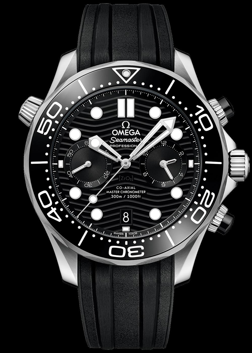 Omega Seamaster Diver 300m Master Chronometer Chronograph 44m