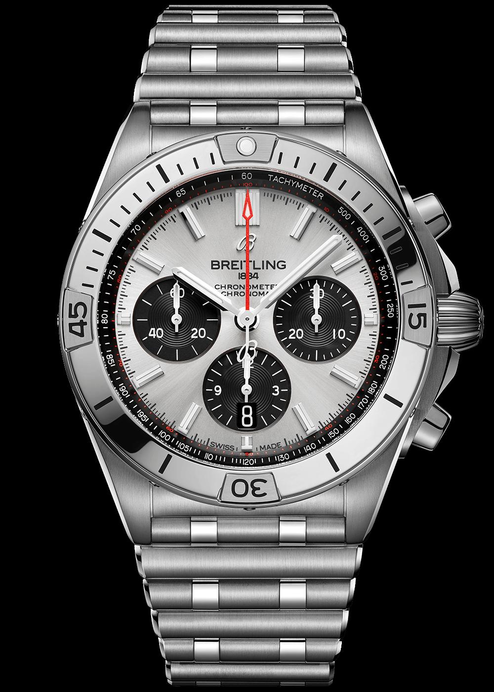 breitling-chronomat-b01-42-silver