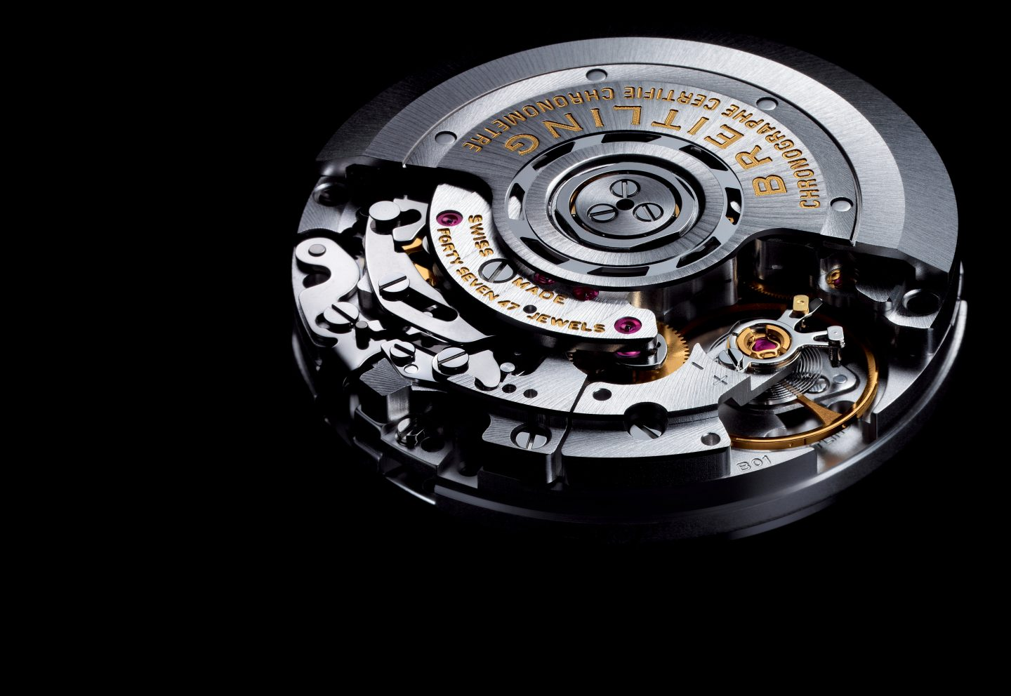 Breitling Manufacture Caliber 01