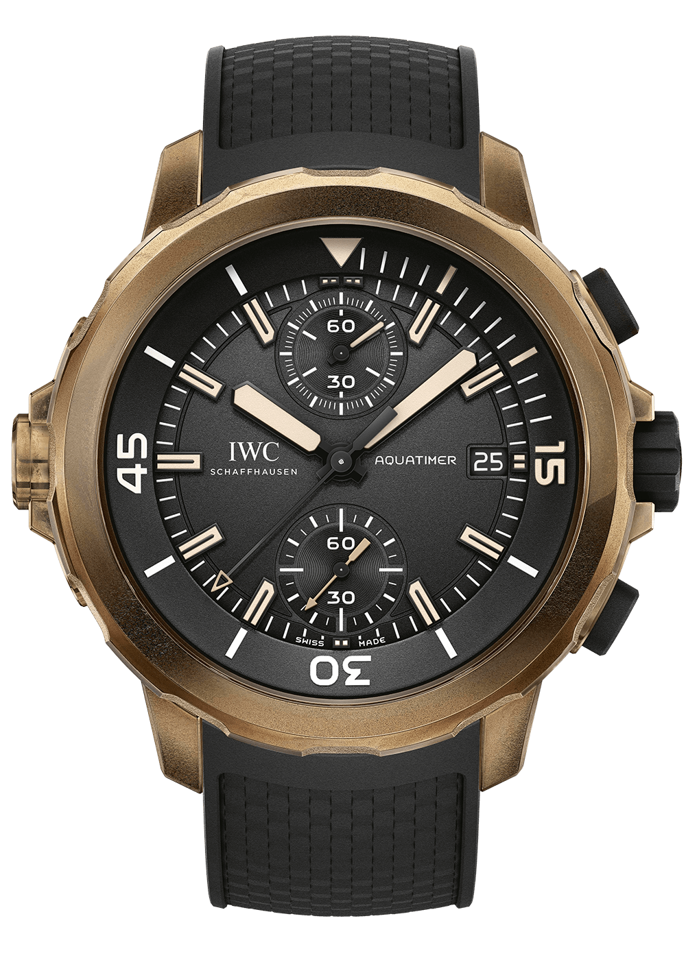 IWC Aquatimer Bronze Edition Galli Zürich