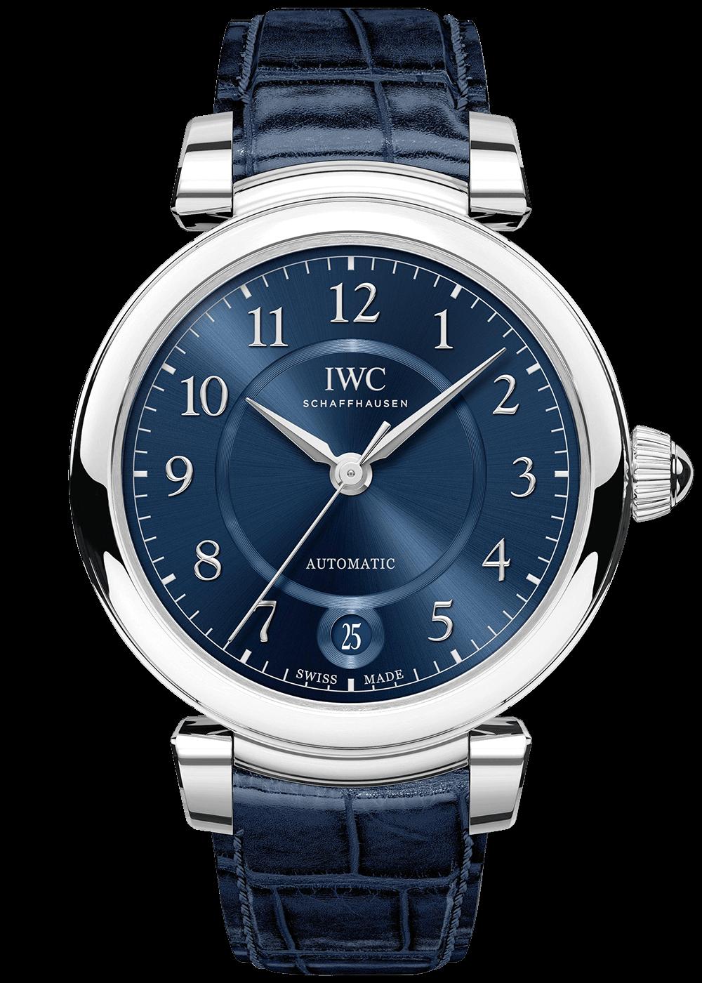 IWC Da Vinci blue
