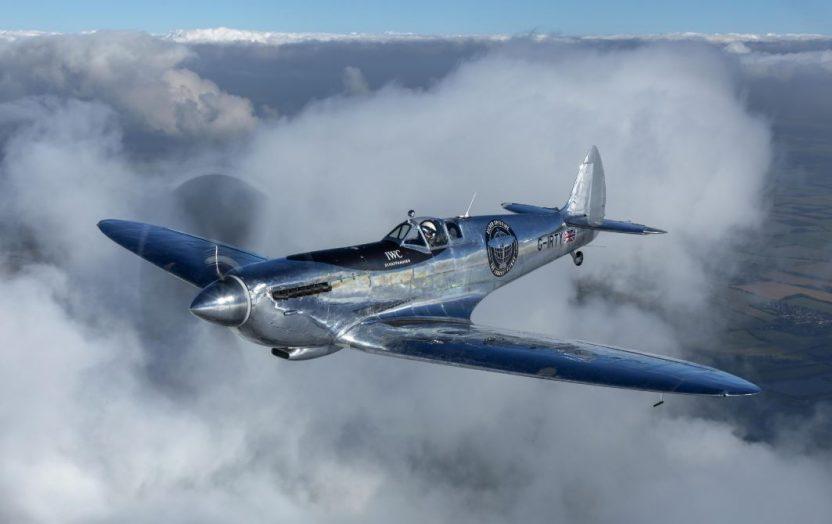 IWC Silver Spitfire Galli Zurich