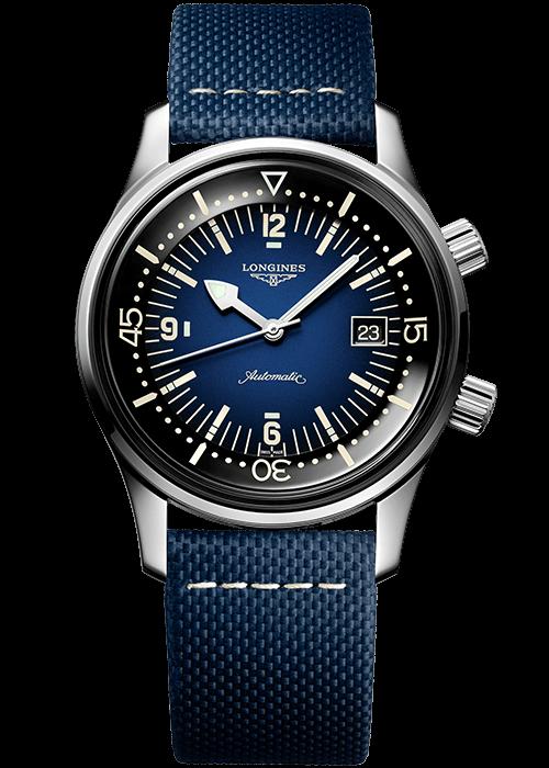 longines-legend-diver-blue