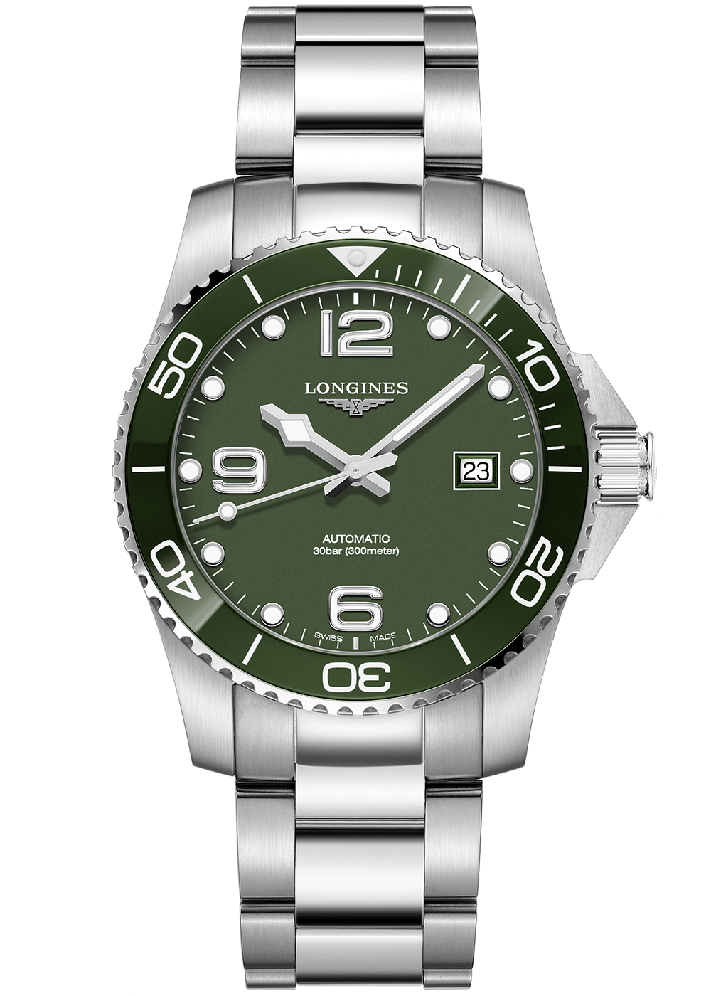 longines-hydro-conquest-green