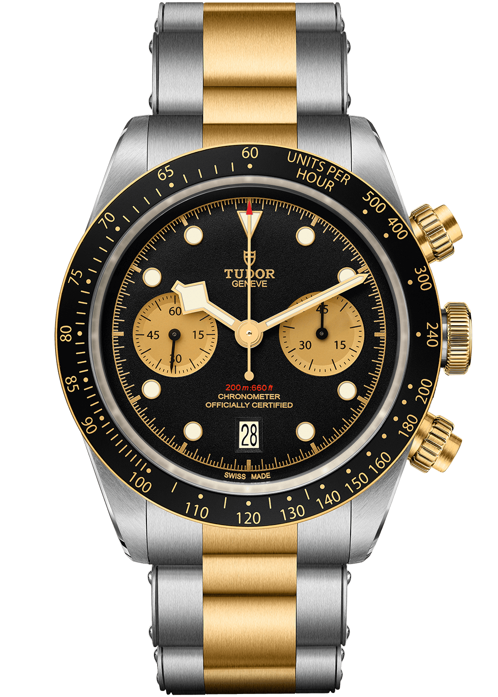 Tudor Heritage Black Bay Chrono S&G