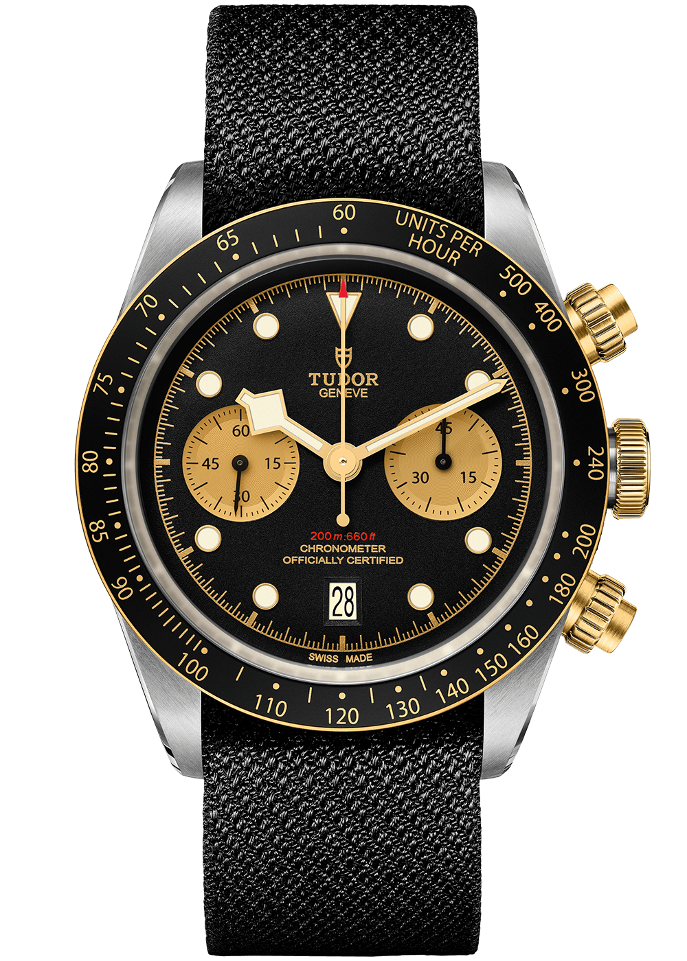Black Bay Chrono S&G Textilband