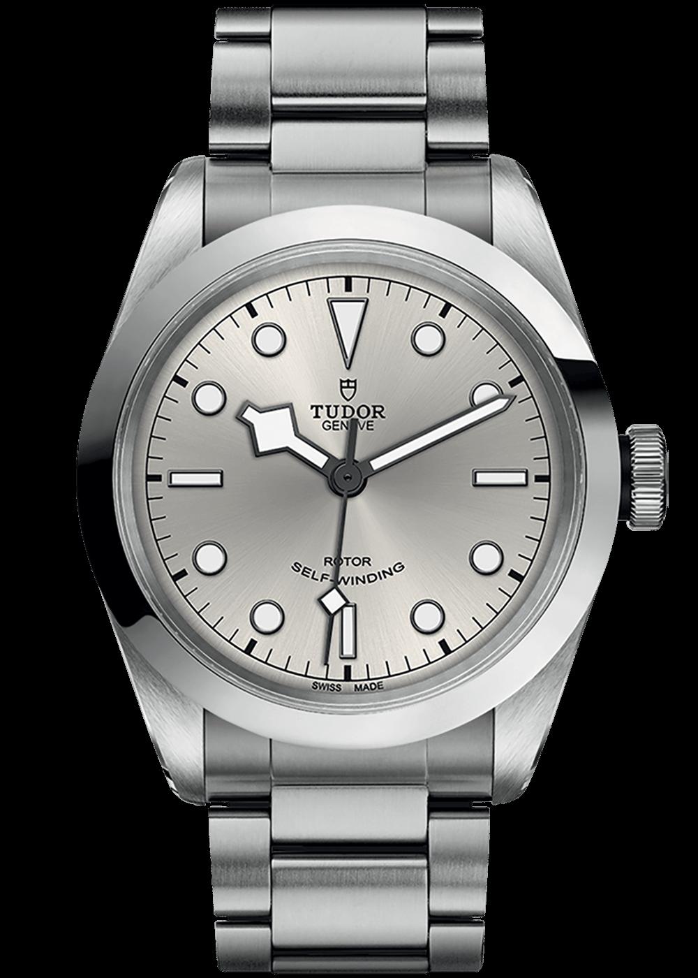 black-bay-41-silver