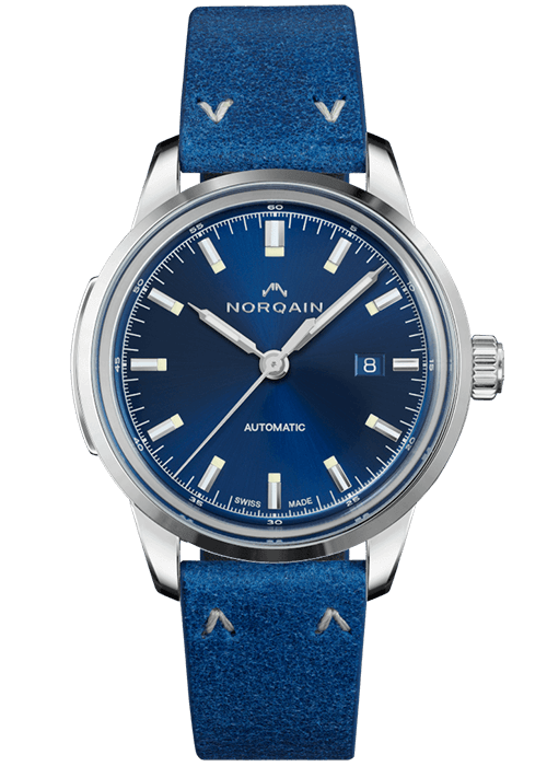 Norqain Freedom 60 Auto blau Zurich