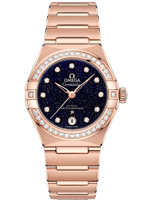 Omega Constellation Manhattan Aventurine