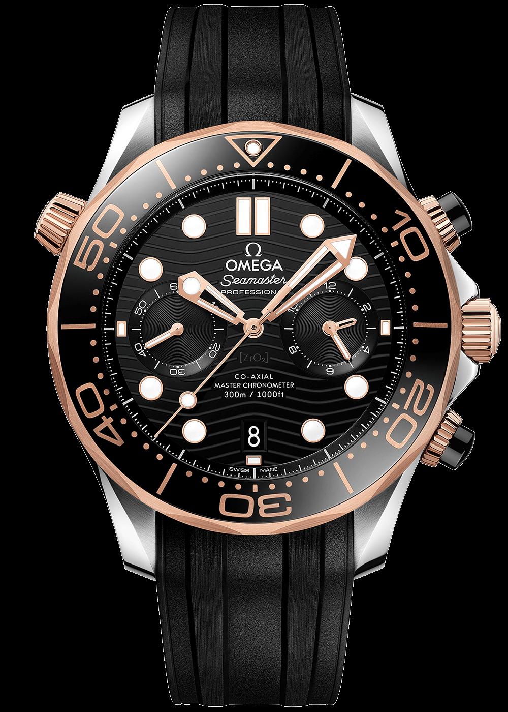 Omega Seamaster Diver Master Chronometer Chronograph 44mm