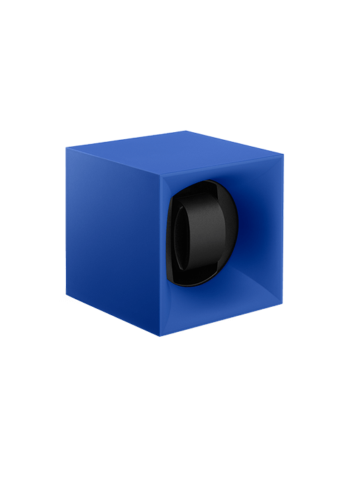 Swisskubik Uhrenbeweger blau Zuerich