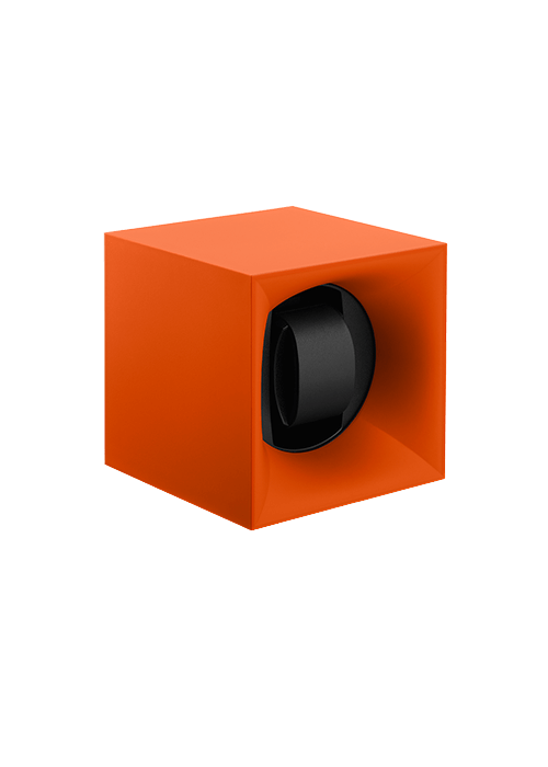 Swisskubik Uhrenbeweger orange Zuerich