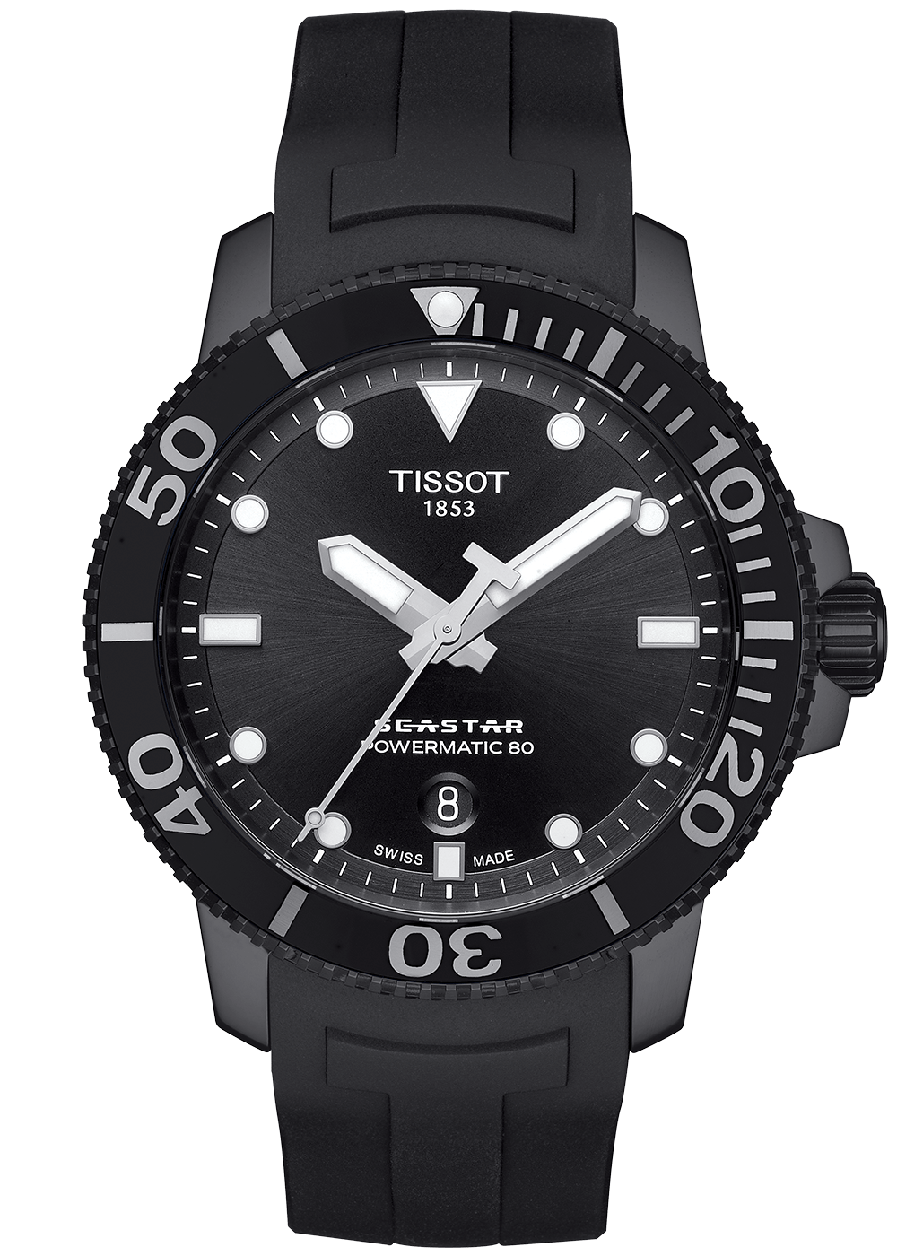 Tissot Seastar Powermatic 80 Galli