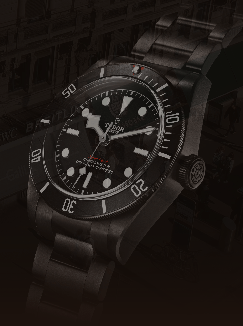 Tudor BB Dark Slider Galli Zürich