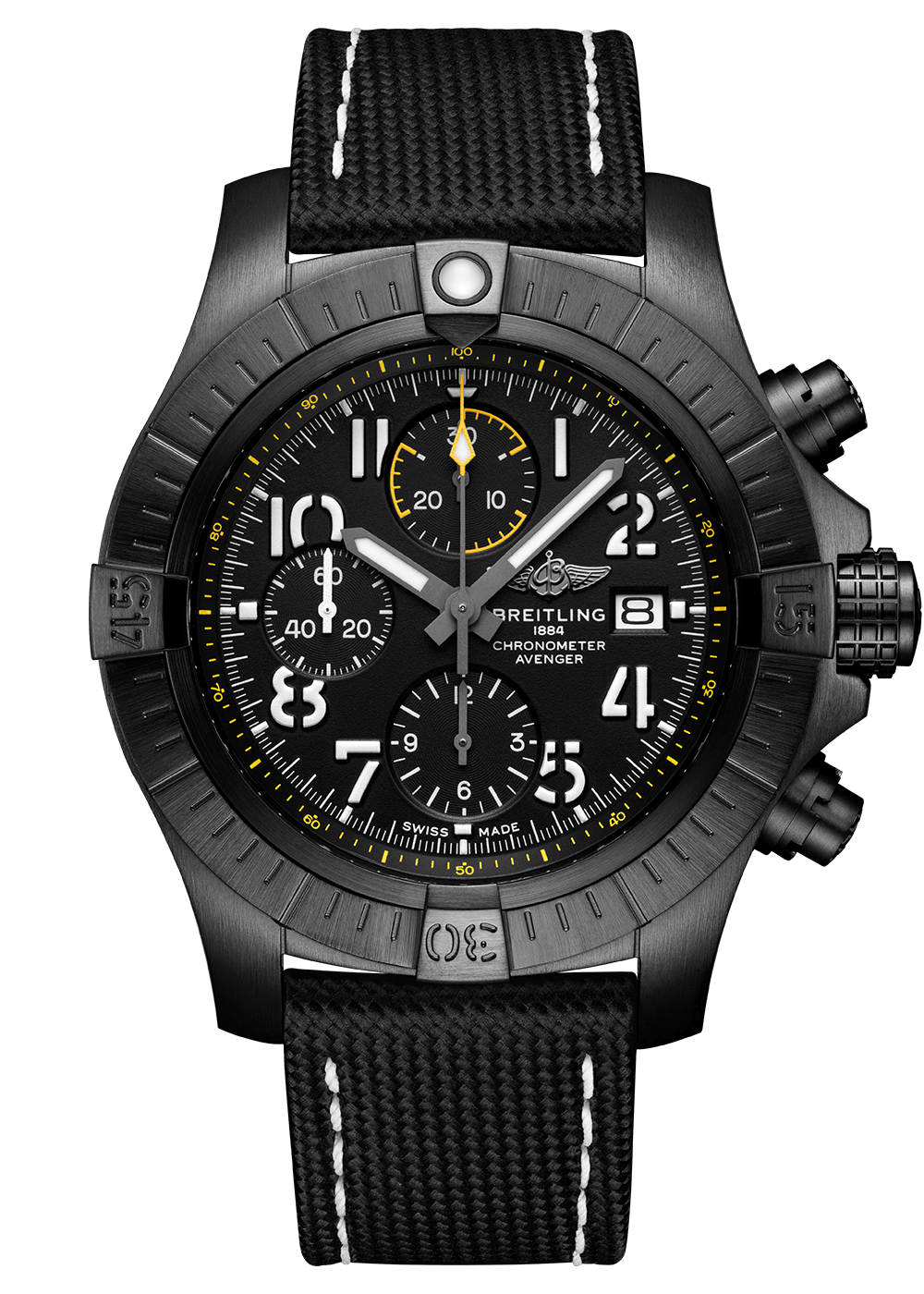 Breitling Avenger Chronograph 45 Night Mission Zürich