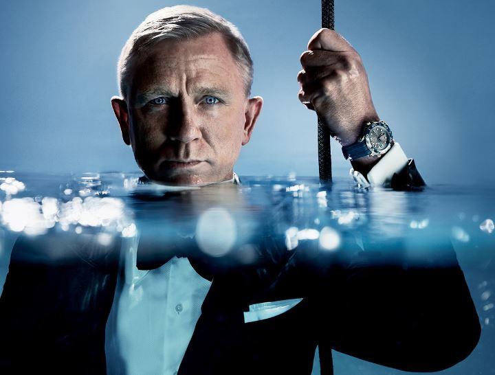 Seamaster 300 an Daniel Craig