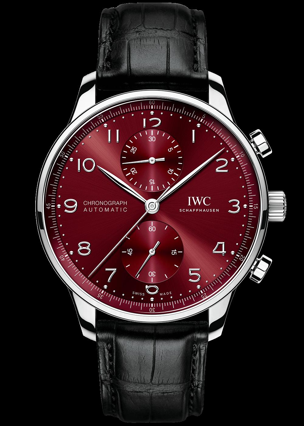 iwc-portugieser-chronograph-burgundy