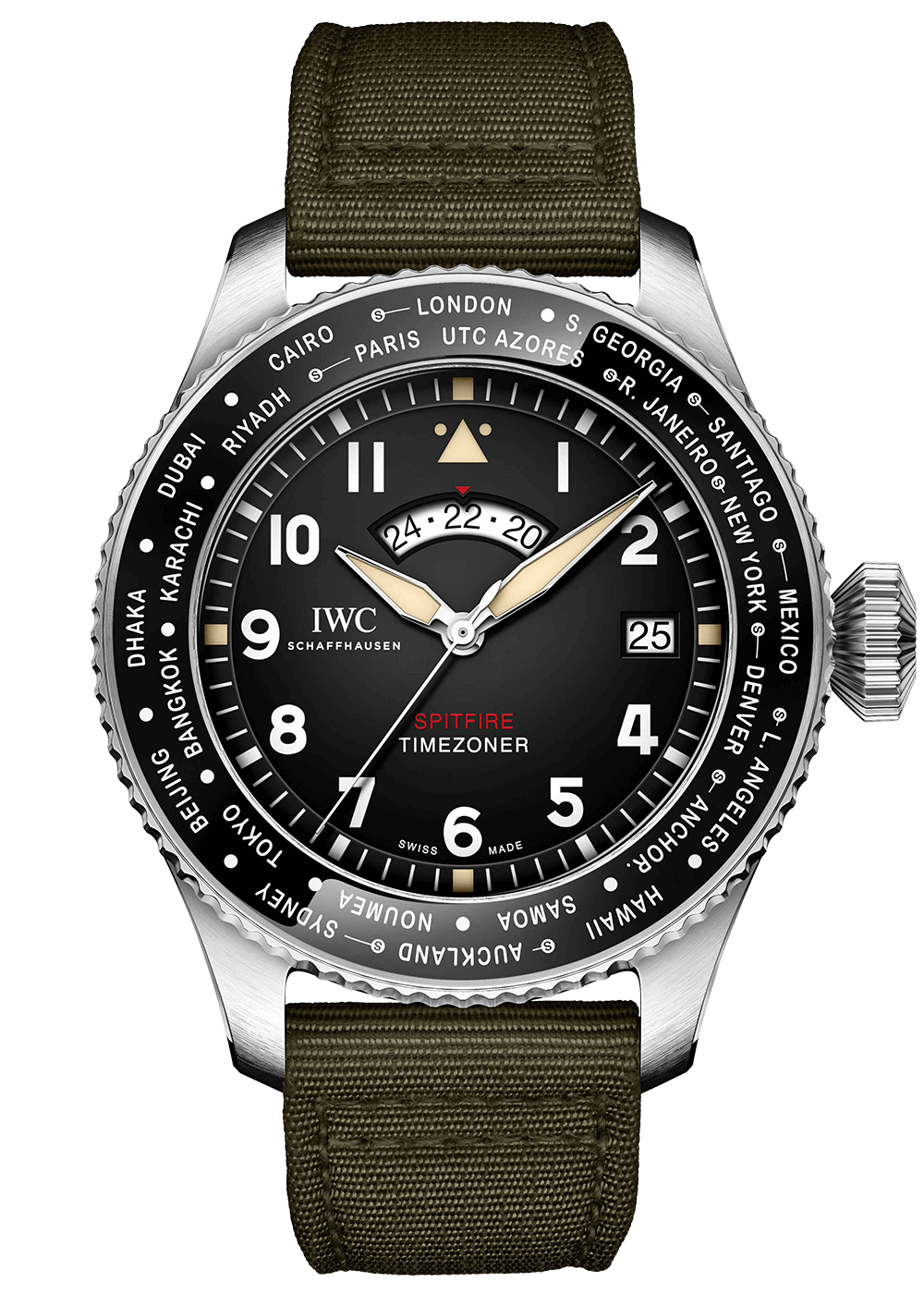 IWC Pilot Timezoner Spitfire The Longes Flight