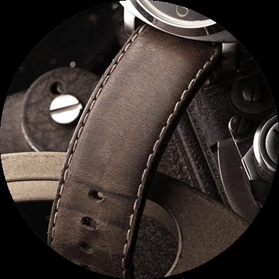 Lederbänder Uhren